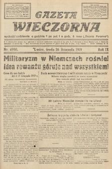 Gazeta Wieczorna. nr4950
