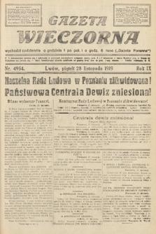 Gazeta Wieczorna. nr4954