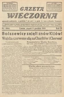 Gazeta Wieczorna. nr4966