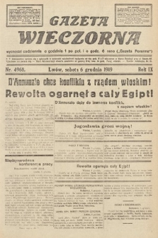 Gazeta Wieczorna. nr4968