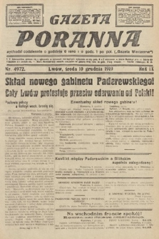 Gazeta Poranna. nr4972