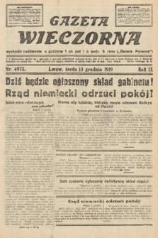 Gazeta Wieczorna. nr4973