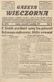 Gazeta Wieczorna. nr4975