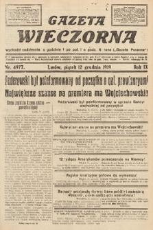 Gazeta Wieczorna. nr4977