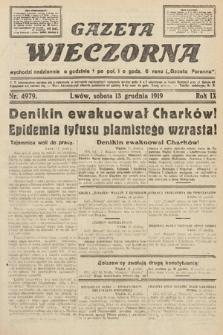 Gazeta Wieczorna. nr4979