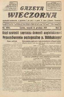 Gazeta Wieczorna. nr4983