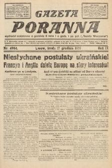 Gazeta Poranna. nr4984