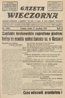 Gazeta Wieczorna. nr4985