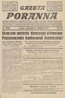 Gazeta Poranna. nr4986