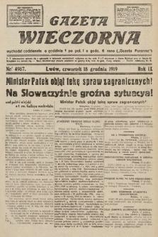 Gazeta Wieczorna. nr4987