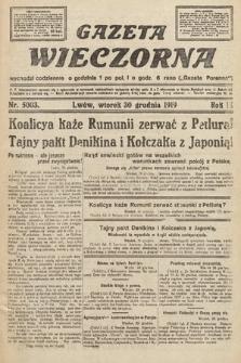 Gazeta Wieczorna. nr5003