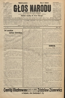 Głos Narodu : dziennik polityczny, założony w r. 1893 przez Józefa Rogosza (wydanie poranne). 1906, nr324