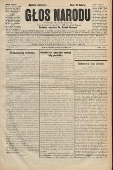 Głos Narodu : dziennik polityczny, założony w r. 1893 przez Józefa Rogosza (wydanie wieczorne). 1906, nr330