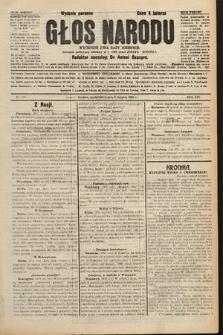 Głos Narodu : dziennik polityczny, założony w r. 1893 przez Józefa Rogosza (wydanie poranne). 1906, nr375