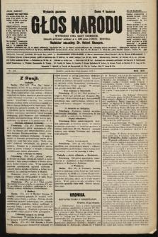 Głos Narodu : dziennik polityczny, założony w r. 1893 przez Józefa Rogosza (wydanie poranne). 1906, nr419
