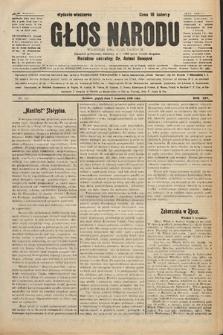 Głos Narodu : dziennik polityczny, założony w r. 1893 przez Józefa Rogosza (wydanie wieczorne). 1906, nr433