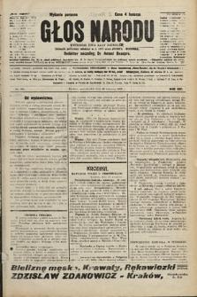 Głos Narodu : dziennik polityczny, założony w r. 1893 przez Józefa Rogosza (wydanie poranne). 1906, nr434