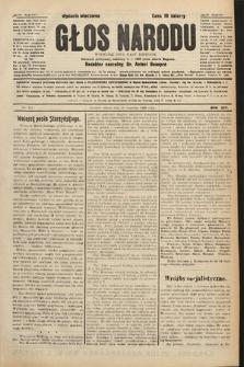Głos Narodu : dziennik polityczny, założony w r. 1893 przez Józefa Rogosza (wydanie wieczorne). 1906, nr441