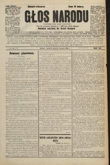 Głos Narodu : dziennik polityczny, założony w r. 1893 przez Józefa Rogosza (wydanie wieczorne). 1906, nr445
