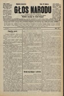 Głos Narodu : dziennik polityczny, założony w r. 1893 przez Józefa Rogosza (wydanie wieczorne). 1906, nr446