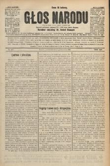 Głos Narodu : dziennik polityczny, założony w r. 1893 przez Józefa Rogosza. 1906, nr455