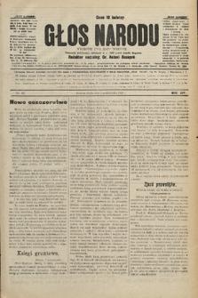 Głos Narodu : dziennik polityczny, założony w r. 1893 przez Józefa Rogosza. 1906, nr457