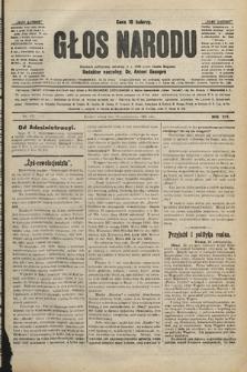 Głos Narodu : dziennik polityczny, założony w r. 1893 przez Józefa Rogosza. 1906, nr477
