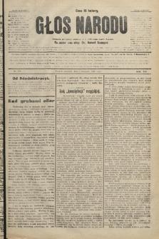 Głos Narodu : dziennik polityczny, założony w r. 1893 przez Józefa Rogosza. 1906, nr478