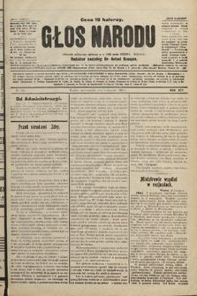 Głos Narodu : dziennik polityczny, założony w r. 1893 przez Józefa Rogosza. 1906, nr481