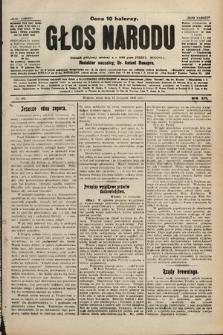 Głos Narodu : dziennik polityczny, założony w r. 1893 przez Józefa Rogosza. 1906, nr489