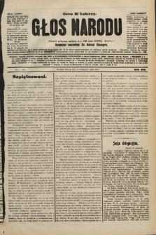 Głos Narodu : dziennik polityczny, założony w r. 1893 przez Józefa Rogosza. 1906, nr494