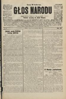 Głos Narodu : dziennik polityczny, założony w r. 1893 przez Józefa Rogosza. 1906, nr495