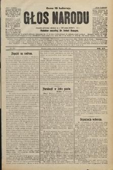 Głos Narodu : dziennik polityczny, założony w r. 1893 przez Józefa Rogosza. 1906, nr498