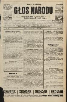 Głos Narodu : dziennik polityczny, założony w r. 1893 przez Józefa Rogosza. 1906, nr603 [505]