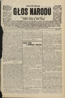 Głos Narodu : dziennik polityczny, założony w r. 1893 przez Józefa Rogosza. 1906, nr[509]