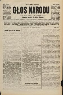Głos Narodu : dziennik polityczny, założony w r. 1893 przez Józefa Rogosza. 1906, nr[510]