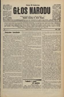 Głos Narodu : dziennik polityczny, założony w r. 1893 przez Józefa Rogosza. 1906, nr609 [515]