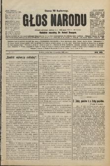 Głos Narodu : dziennik polityczny, założony w r. 1893 przez Józefa Rogosza. 1906, nr615 [521]