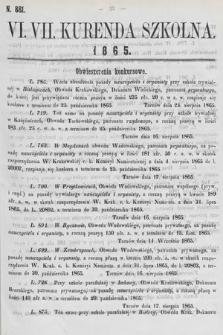 Kurenda Szkolna. 1865, kurenda6