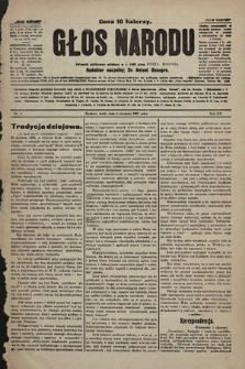 Głos Narodu : dziennik polityczny, założony w r. 1893 przez Józefa Rogosza. 1907, nr2