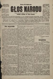 Głos Narodu : dziennik polityczny, założony w r. 1893 przez Józefa Rogosza. 1907, nr7