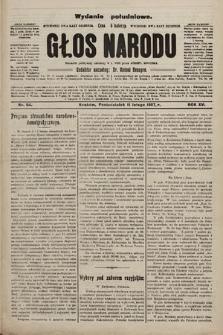 Głos Narodu : dziennik polityczny, założony w r. 1893 przez Józefa Rogosza (wydanie poranne). 1907, nr64