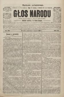 Głos Narodu : dziennik polityczny, założony w r. 1893 przez Józefa Rogosza (wydanie poranne). 1907, nr106