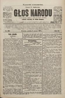 Głos Narodu : dziennik polityczny, założony w r. 1893 przez Józefa Rogosza (wydanie wieczorne). 1907, nr109