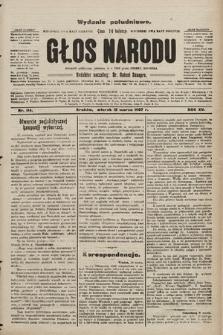 Głos Narodu : dziennik polityczny, założony w r. 1893 przez Józefa Rogosza (wydanie poranne). 1907, nr114