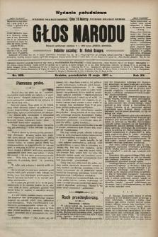 Głos Narodu : dziennik polityczny, założony w r. 1893 przez Józefa Rogosza (wydanie poranne). 1907, nr209