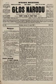 Głos Narodu : dziennik polityczny, założony w r. 1893 przez Józefa Rogosza (wydanie wieczorne). 1907, nr210