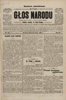 Głos Narodu : dziennik polityczny, założony w r. 1893 przez Józefa Rogosza (wydanie poranne). 1907, nr211
