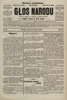 Głos Narodu : dziennik polityczny, założony w r. 1893 przez Józefa Rogosza (wydanie poranne). 1907, nr216