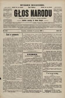Głos Narodu : dziennik polityczny, założony w r. 1893 przez Józefa Rogosza (wydanie wieczorne). 1907, nr253